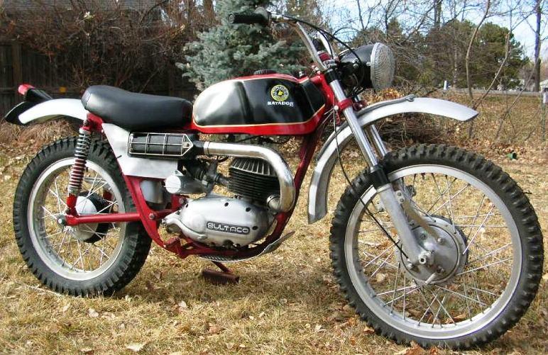 ? moto mystere N°153 ? TROUVEE - Page 3 Bultaco_Matador_250_MK2_mod.16_1966