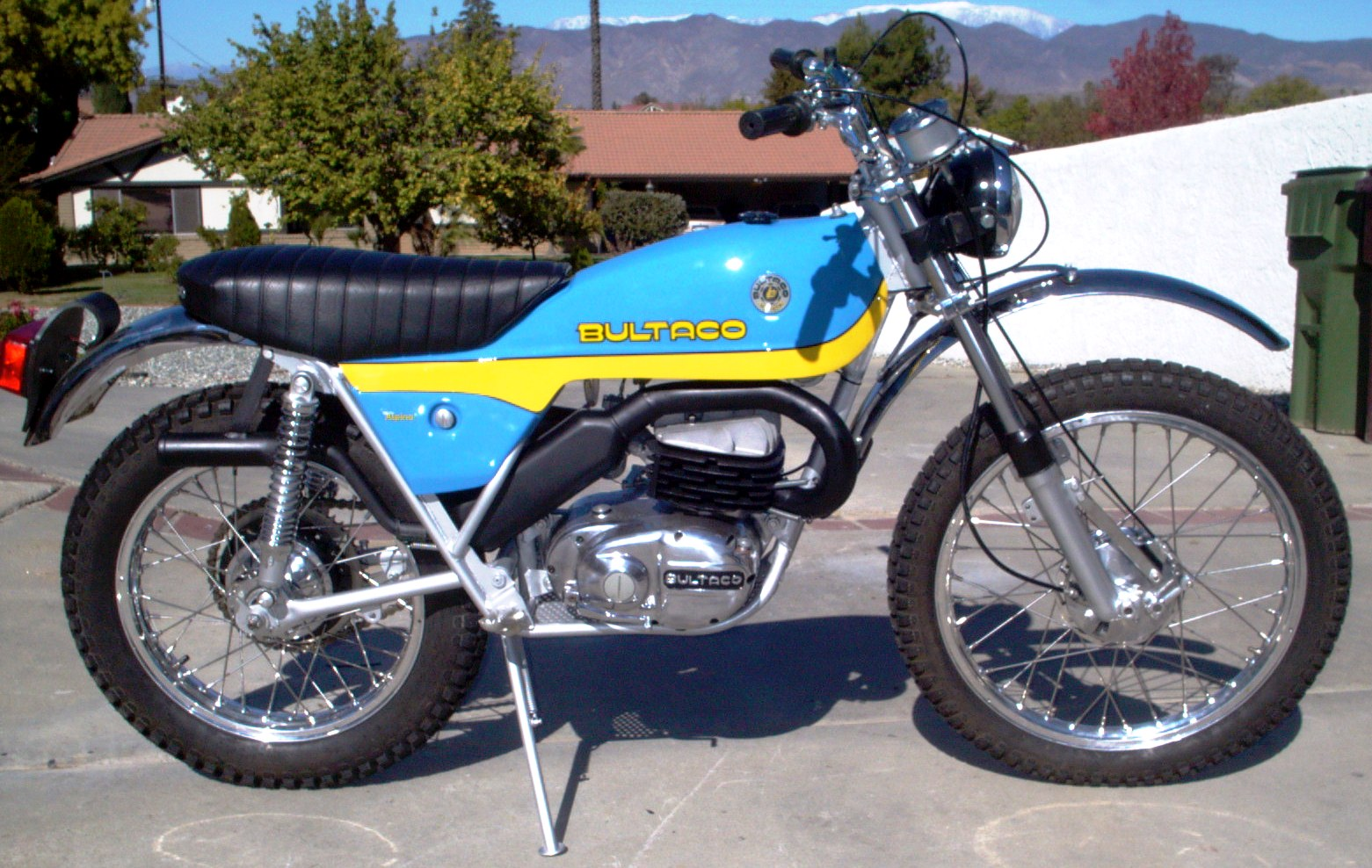 1974 Bultaco Alpina 350 Enduro 350 CC presented as lot F239 at Las ...